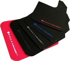Rally Armor UR Mud Flaps Set/4 No HW Universal Fit Black w/ BLUE  MF12-UR-BLK/BL