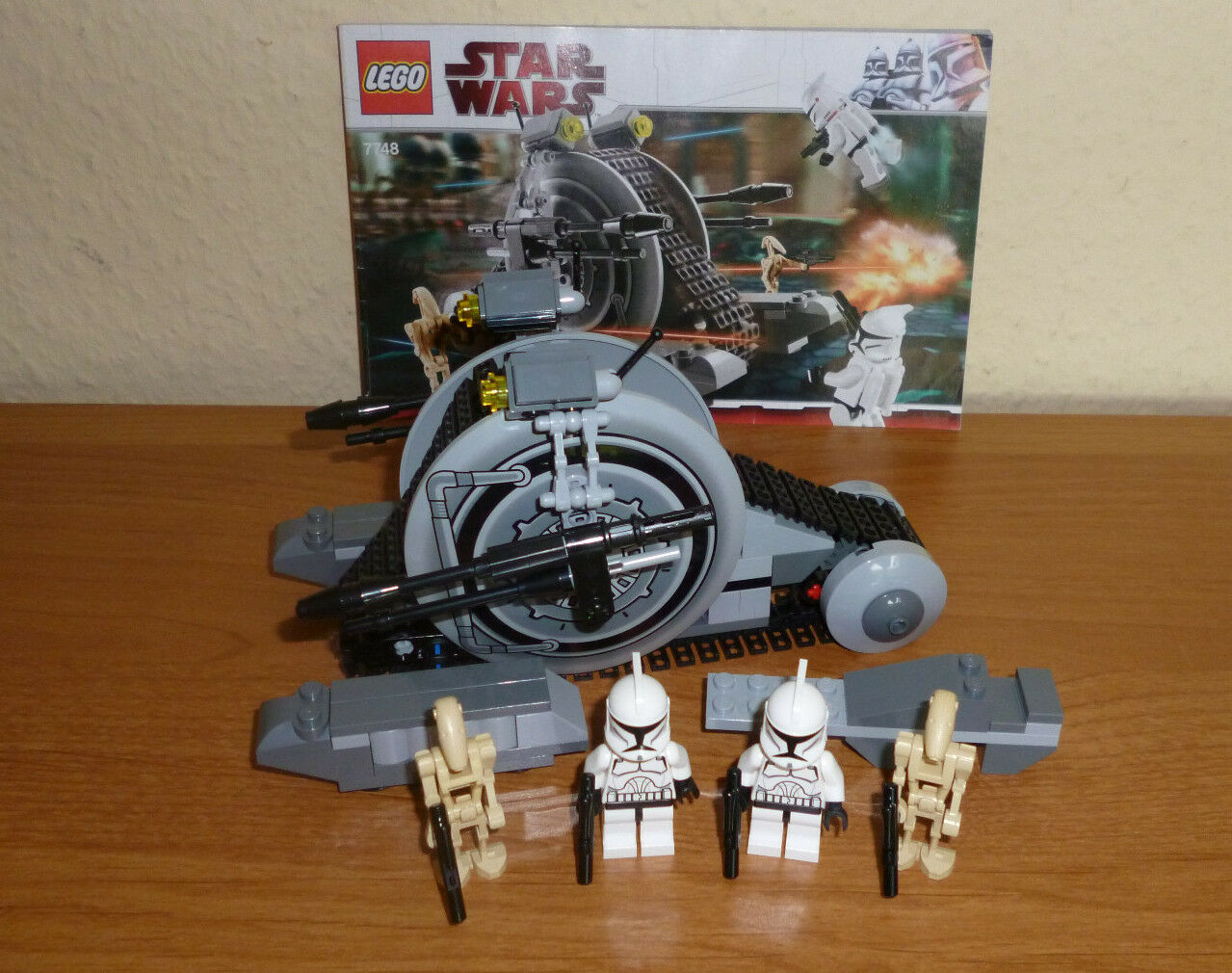 LEGO Star Wars   7748 7748 7748 Corportae Alliance Tank  TOP mit BA 6cdc96
