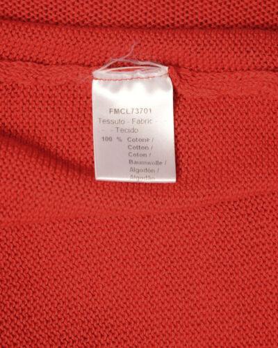 Fmcl73701 Uomo Maglia Cotone Rosso Sweater Alessandrini Made Daniele In 9 Italy zqqASwP