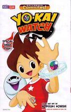anime manga YO-KAI WATCH #1 Halloween ComicFest variant NM HCF Level-5