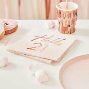Hello-21-birthday-Napkins-Pink-Ombre-Rose-Gold-Blush-Party-Decoration-Milestone