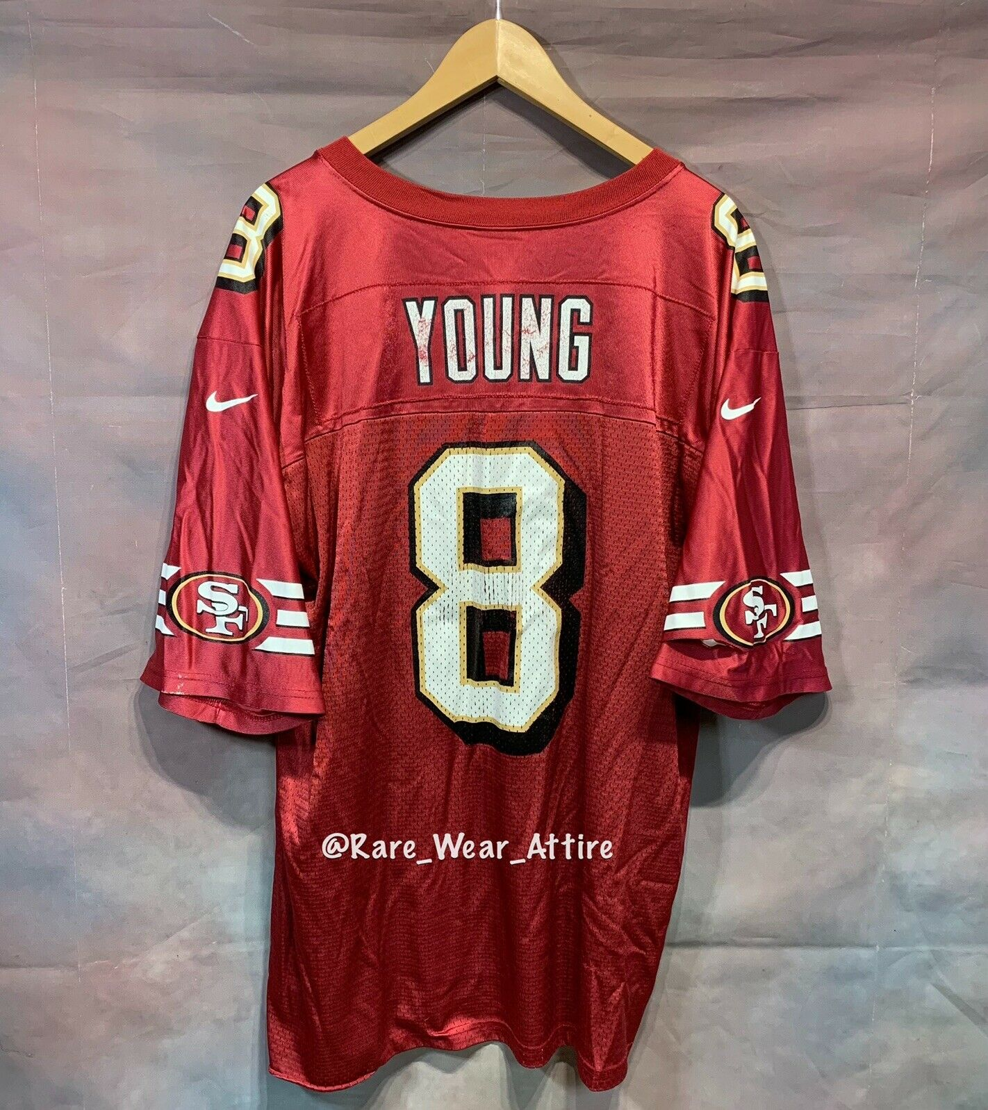 steve young nike jersey