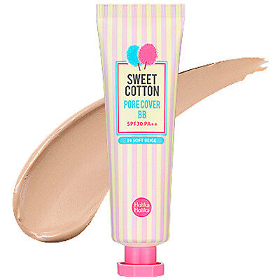 [HOLIKA HOLIKA]  Sweet Cotton Pore Cover BB (SPF30 PA++) 30ml / Soft bb cream