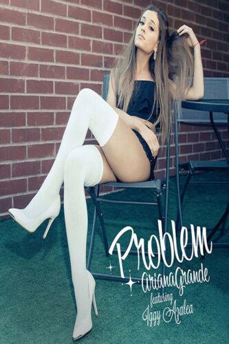 H548 Ariana Grande Problem Ariana Grande Album Cover Art Silk Poster