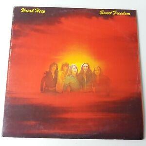 Uriah-Heep-Sweet-Freedom-Vinyl-LP-UK-1st-Press-A-2-B-2-Bronze-EX