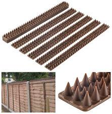 Bird Spike Strips Animal Intruder Deterrent Fence Railing Wall Control Security