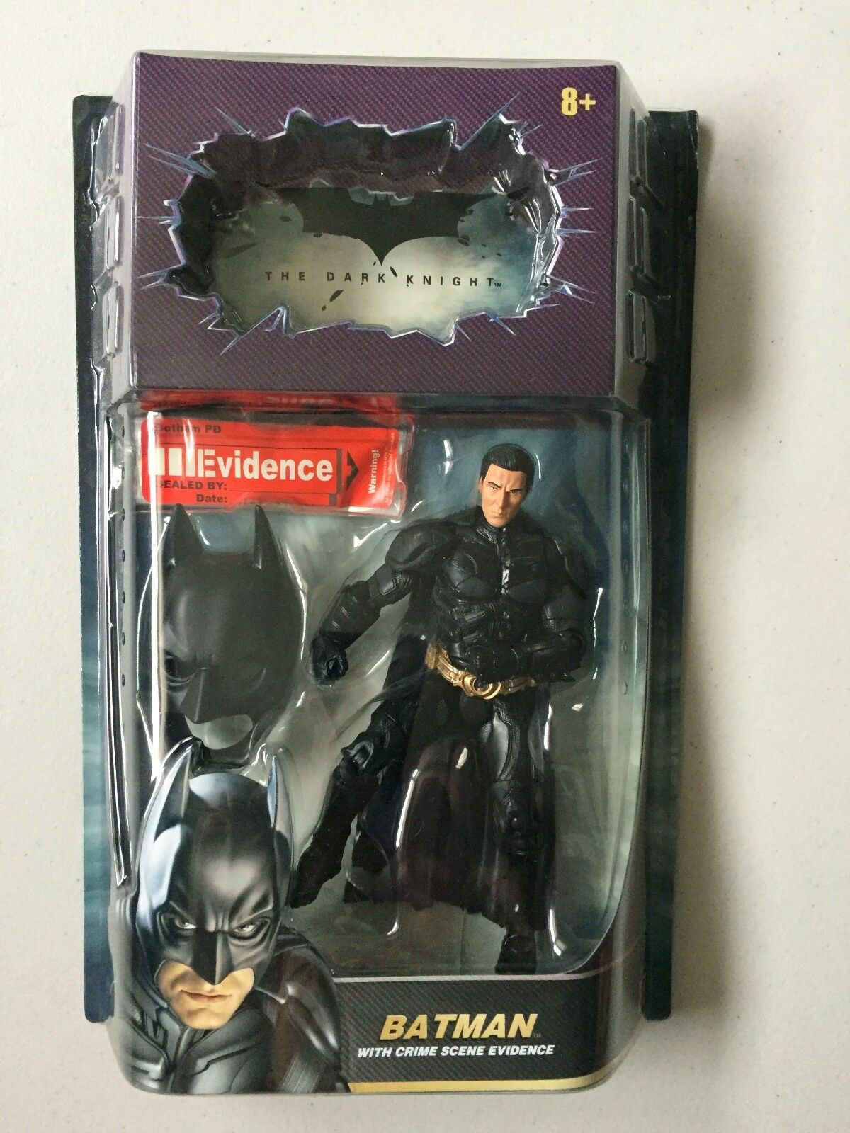BATMAN DARK KNIGHT UNMASKED CHRISTIAN BALE CHASE Figure Exclusive DCU Comics