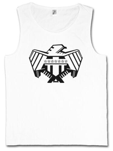 Justice Department Logo I Tank Top Judge One BD Mega Dredd City Eagle Adler