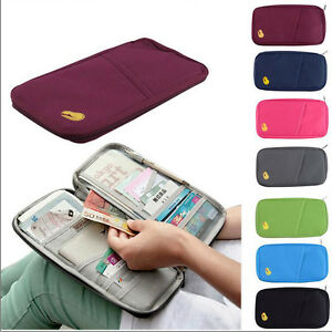 Colors-Passport-Credit-ID-Card-Cash-Wallet-Purse-Holder-Document-Bag-Handbag