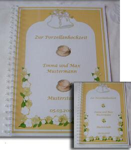 Details Zu Festzeitung Zur Porzellanhochzeit Geschenk 20 Hochzeitstag Ehe Jubiläum Karte