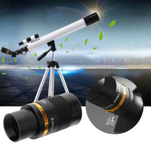 Telescope-Eyepiece-8-24mm-Continuous-Zoom-High-Dispersion-Wide-Field-Observation