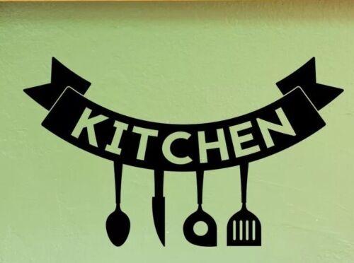 Wall decal Kitchen Displays Decal Vinyl Sticker Window Shops Pubs Home Decor