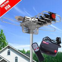 100mile Hdtv 1080p Outdoor Amplified Hd Tv Antenna Digital Uhf/vhf Fm Radio Lot