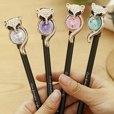 Diamond Pens Gel Pen School Supplies Colored Kawaii Cute Indie School Supplies