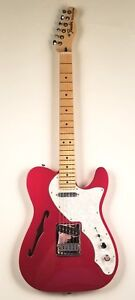 2017-Fender-Thinline-Telecaster-Deluxe-Electric-Guitar-w-Gig-Bag