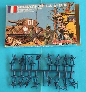 Atlantic 1/72 - World War Ii French Free Infantry - Scatola Originale Su Sprue