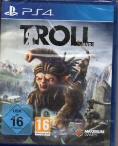 Troll-and-I-Playstation-PS4-deutsch-Neu-OVP