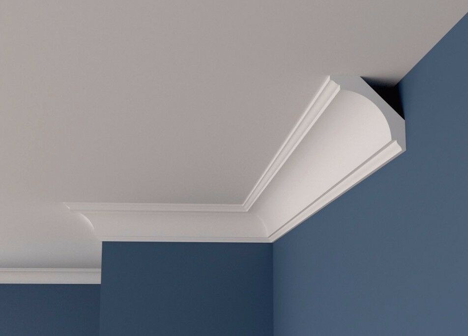 Coving BFA2 Cornice XPS Lightweight Molding Cheapest MANY LARGE GrößeS QUALITY 2M