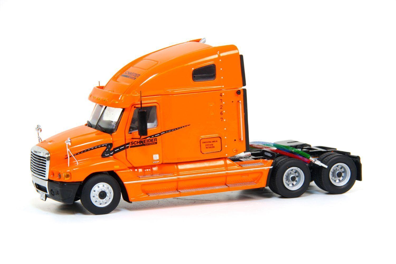 Freightliner Century Truck Tractor w  Headache Rack   SCHNEIDER  - 1 50 - Sword