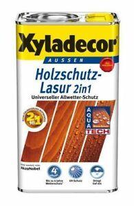 €5/L Xyladecor 2in1 Klassiker Salzgrün BEULE 5L Holzschutzlasur Holzlasur Lasur