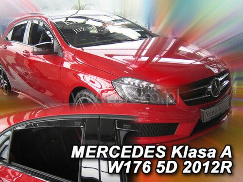 Mercedes Clase a W176 2012-2018 4.pc desviadores de viento Set Heko 23282