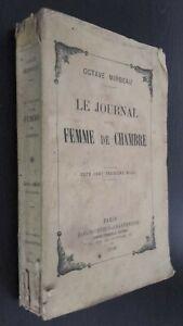 Octave-Mirbeau-El-Journal-D-039-Une-Mujer-Dormitorio-Fasquelle-1929-Paris-Pin-ABE