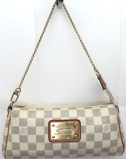 Louis Vuitton Eva Clutch Damier Azur Crossbody Bag Ebay