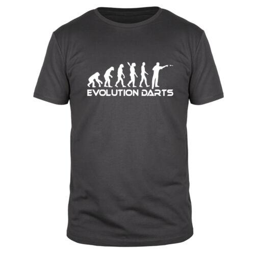 Evolution Darts Dartshirt Steeldart Softdart 180 Triple Bullseye Fun Shirt