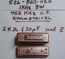 Collins Mechanical Filter 455 KHz CF, 1,2 or 4 KHz BW Symmetrical (AM) NOS