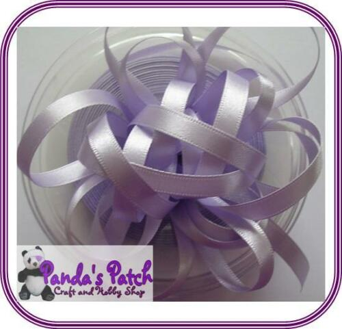 Berisfords Double Sided Satin Ribbon Reels Choose Width and Colour