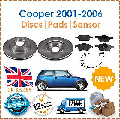 Brake Pads Front And Rear For Mini One Cooper S 1.6 R50 R53 2001-2006