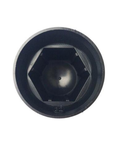 20x radmutterkappen ø32 mm negro radmutterabdeckung radmutterschutz capuchón camiones