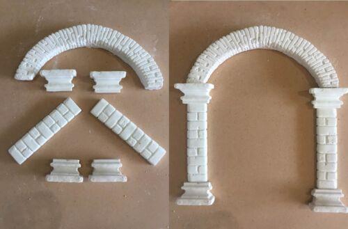 Archi presepe//modellismo figure//scenografia componibili IN GESSO