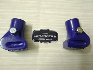 VESPA-PKPXPET5-BLUE-ALLOY-STAND-FEET-ITALIAN-BRAND-NEW