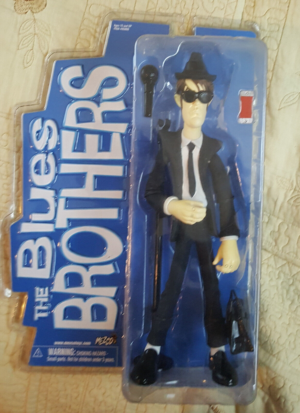 "Mezco The Blaus Brothers ""Jake and Elwood Blaus"" Figures 12"""