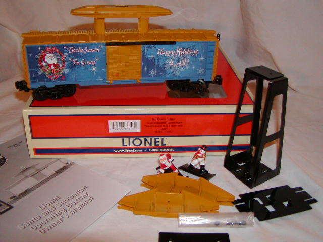 Lionel 6 -8340 Santa & Snowman Operativ Tag låda Bil O 027 MIB New 2017