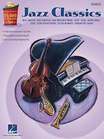Jazz Classics Trombone Big Band Play-along Book And Cd 000843097