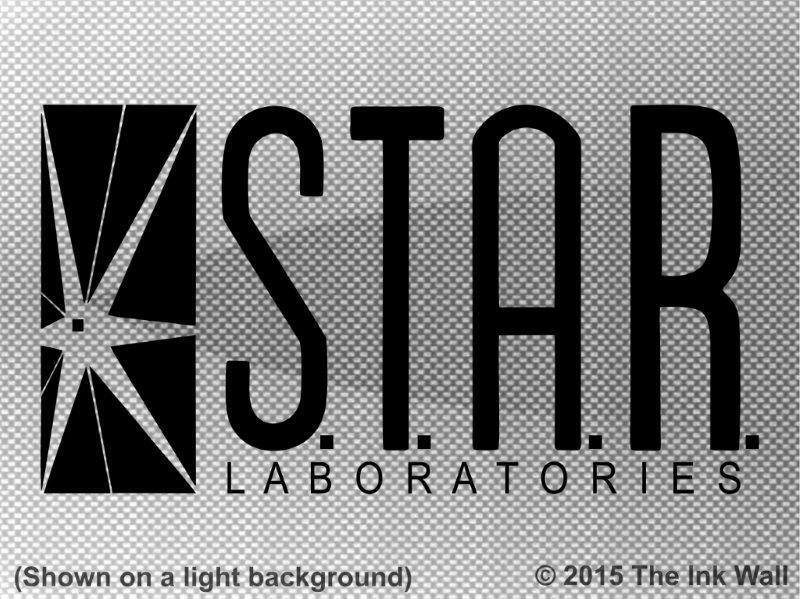 Star Labs S T A R Laboratories Window Decal Sticker The
