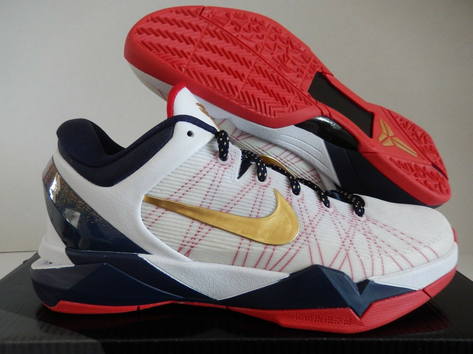 competitive price 39692 499da ... coupon code for nike usa zoom kobe vii 7 usa nike olympics blanco  systemdoradoazul 4883720184 3cc04c