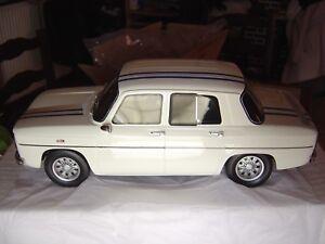 Renault 8 Gordini Blanche 1/12 Ottomobile - Otto G011 (pas 1/18)