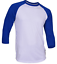 Raglan-Men-039-s-Casual-Baseball-T-Shirt-3-4-Sleeve-Plain-Jersey-Tee-S-2XL thumbnail 19