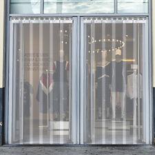 Vevor 3 X 7 Plastic Door Strip Curtain 8 Freezer Walk In 36 X 84 Pvc Vinyl
