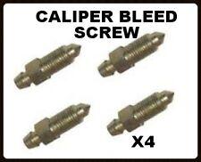 Land Rover Defender Brake Caliper Bleed Nipples X4 RTC1526 FREE POSTAGE