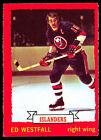 1973-1974 O-PEE-CHEE Ed Westfall #67 Hockey Card