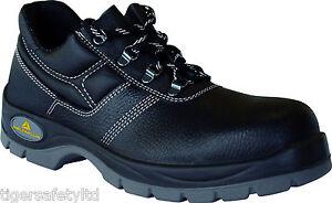 Jet seguridad trabajo Panoply S3 Delta para zapatos de hombre de negro cuero Plus de agua resistentes 2 al f1wEH