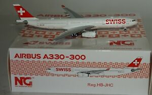 NG-Model-62001-Airbus-A330-343-Swissair-HB-JHC-in-1-400-Limited-Edition