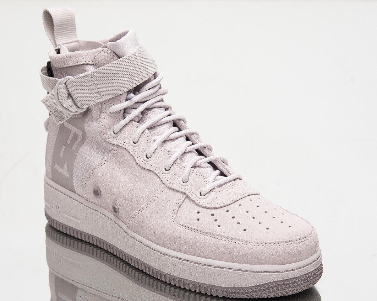 Nike SF Air Force 1 Mid Suede Mens New shoes Men Grey Sneakers Casual AJ9502-001