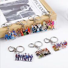 Kpop KeyRing BlackPink Seventeen17 Twice Girlhood Photo Metal Key Chain Key Ring