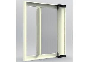 Zanzariera laterale a rullo per porta finestra su misura prezzo al mq ebay - Zanzariera a rullo per porta finestra ...