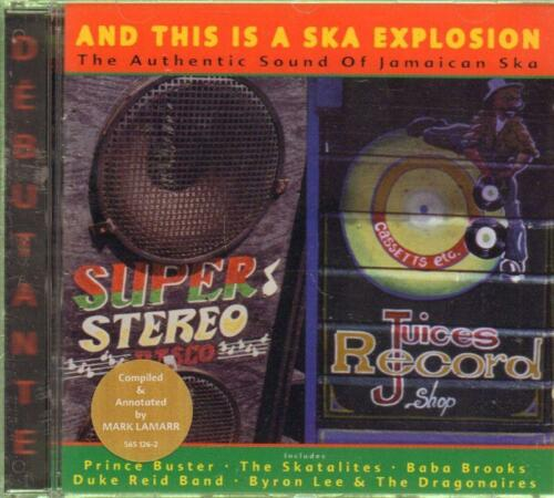 1 of 1 - Various Reggae(CD Album)And This Is A Ska Explosion--New